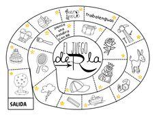 Logopedia dinámica y divertida : El juego de la RR Preschool Literacy, Kids Learning Activities, Speech Therapy Activities, Speech Language Therapy, Speech And Language, Classroom Activities, Phonological Awareness, Flipped Classroom, Spanish Lessons
