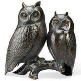 Found it at Wayfair - Owl Pair on Branch Figurine