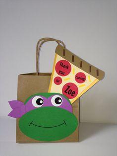 Handmade bag Ninja Turtles
