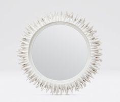 Serrat Coral Mirror for over Desk Wall Mirrors Entryway, Small Wall Mirrors, Rustic Wall Mirrors, Round Wall Mirror, Sunburst Mirror, Bedroom Mirrors, Mirror Shelves, Decorative Mirrors, Vanity Mirrors