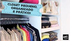 Rafaela Oliveira dá algumas dicas ótimas para organizar e dar um UP nos espaços do seu closet ou armário.