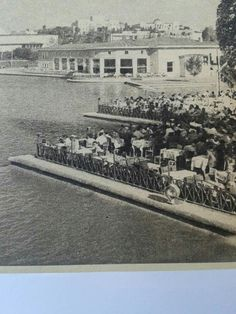 Gençlik parkı çay bahçesi 1957