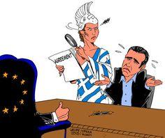 Ξαναχτύπησε ο Latuff: Σκίτσο με την Ελλάδα να κοιτά αγριεμένη τον Τσίπρα