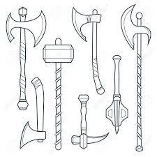 Bilderesultat for axe weapons