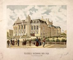 Iasi - Teatrul National - dupa 1896 Famous Fictional Characters, Romanian People, Most Beautiful, Beautiful Places, Lion, Bbc S, Thing 1, Mountain Resort, Theatre