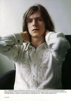 David Bowie. No matter the era, he's always fashionable. Androgynous Rocks!