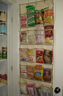 This is so doable!  Now I'll be able to find all the things that get buried in my pantry!!