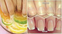 DIY Nail Soak For Longer, Stronger Nails