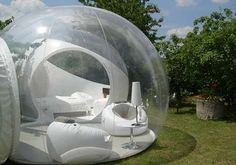 futuristic bubble house