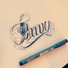 Hand Type Vol. 3 by Raul Alejandro, via Behance