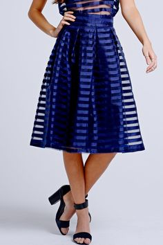 A Line Skirts, Overlays, High Waisted Skirt, Mesh, My Style, How To Wear, Fashion Design, Clothes, Vintage