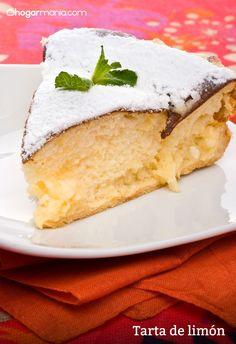 Tarta de limón Cute Cakes, Yummy Cakes, Delicious Deserts, Yummy Food, Paella, Dessert Recipes, Desserts, Sweet Recipes, Cupcake Cakes