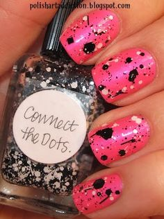 For a similar look try china glaze glitz n pieces glitter