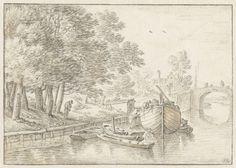 Kanaaloever te Utrecht, Herman Saftleven, 1619 - 1685