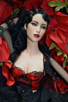 pensive barbie
