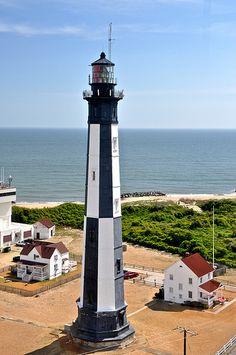 New Cape Henry #Lighthouse by runnincricket, via Flickr - #VA - http://dennisharper.lnf.com/
