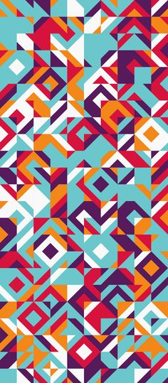 Russfussuk 'Skyride' S10A #pattern #patterndesign #patternprint #sky #clouds #fun #colourful #diamond #geometric #generative #geometria #cadernos #padrões #russfussuk