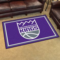 NBA - Sacramento Kings 4'x6' Rug