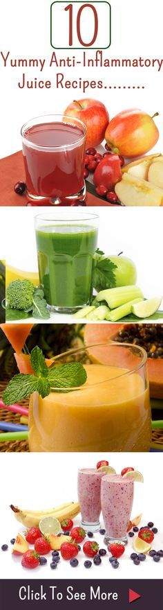 10 Yummy Anti-Inflammatory Juice Recipes And Their Benefits For Your Health http://www.juicerblendercenter.com