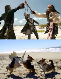 Pirates of the Caribbean  Doggy stile!