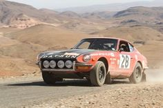 Datsun 240Z rally car