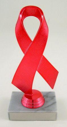 Awareness Ribbon Trophy