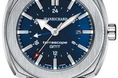 10 montres & un coussin - Jean Richard Terrascope - lesoir.be
