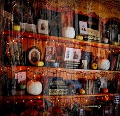 Spooky Bookcase