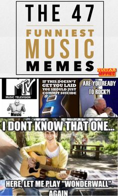 The Top 29 Funny MUSIC Memes That'll Make You Laugh  #music #guitar #piano  GuitarHippies - Inspiring Your Musical Journeys