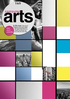 Cover design for artsMAG on Behance