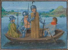 « Chroniques sire JEHAN FROISSART » Date d'édition :  1401-1500  Français 2645 Folio 245v