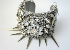 Etsy's 16 Boldest, Blingiest Jewelry Finds/ **A statement cuff & weapon all in one :)
