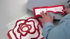 Rose Hughes - fast piece applique- interesting technique, doesn't use fusible