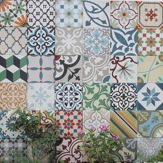 Cement Tile Shop - Encaustic Cement Tile Patchwork Random
