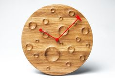 'around the moon in 60 minutes' wall clock from fajno design