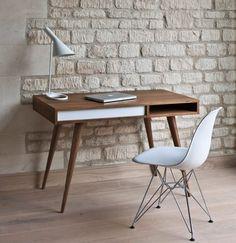 Celine desk by Nazin Kamali ... from casefurniture.co.uk on Wanelo