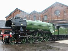One of the most iconic steam trains I can ever remember and a personal favourite too, THE FLYING SCOTSMAN