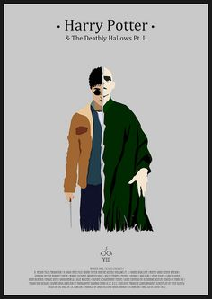Harry Potter And the Deathly Hallows Pt. II - Minimalist Poster | Flickr - Photo Sharing!