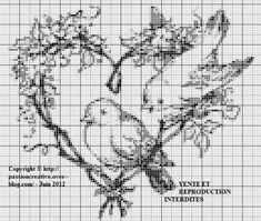 Cross Stitch Pillow, Cross Stitch Heart, Cross Stitch Animals, Filet Crochet, Cross Stitching, Cross Stitch Embroidery, Wedding Cross Stitch Patterns, Crochet Placemats, Christmas Embroidery Patterns