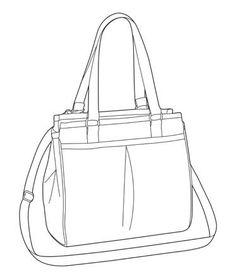 fashion designers drawings of handbags - Google Search Croquis Fashion, Fashion Sketches, Drawing Bag, Dress Drawing, Flat Drawings, Bag Illustration, Bag Patterns To Sew, Fashion Painting, Denim Bag