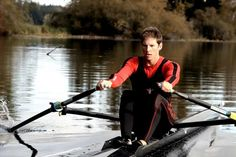 """Peterborough resident Jeremiah Brown has written """"The 4 Year Olympian"""", documenting his four-year journey from a novice rower to an Olympic medalist. (Photo courtesy of Jeremiah Brown)"""
