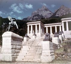 Studying other remnants of Rhodes and colonial legacy within public space. How do these inscribe and continue to re-inscribe narratives of hierarchy? Ocean Aquarium, Cape Town South Africa, Volunteer Abroad, Table Mountain, Old Pictures, Places Ive Been, Landscape Photography, Mount Rushmore, City