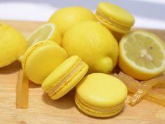 「フレデリック・カッセル」のレモンイエローマカロン