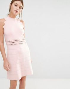 Ted Baker Natleah Knitted Mini Dress