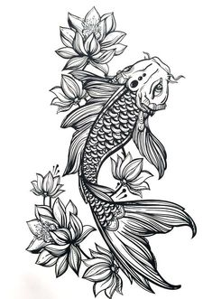 10 Mysterious Koi Fish Tattoo Designs and Meanings Tattoos And Body Art koi tattoo design