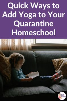 Fun and straightforward ways to add yoga and mindfulness to your daily homeschooling schedule! Kids Yoga Poses, Yoga For Kids, Mindfulness For Kids, Mindfulness Activities, Kinesthetic Learning, Yoga Themes, Yoga Books, Yoga Lessons, Teaching Kids