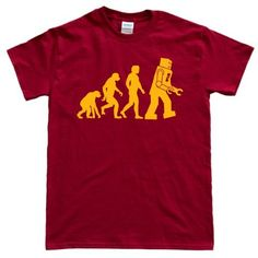 Men's Evolution of the Robot Tee