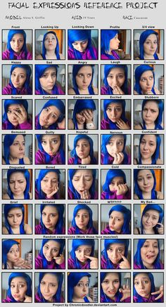 .::Expressions::. by lexiXmurder.deviantart.com on @deviantART