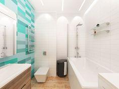 Вариант ванной в квартире-студии. Москва. Ванная