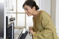 Instructions for a Frigidaire Gallery Series Self-Cleaning Oven